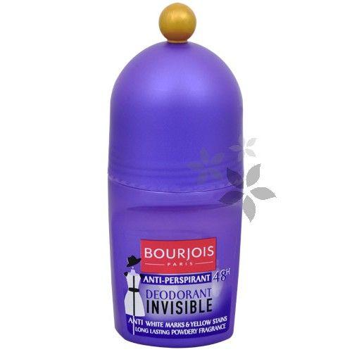 Bourjois 48hodinový kuličkový deodorant-antiperspirant Invisible 50 ml