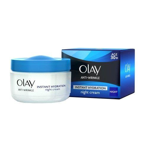 Olay Noční krém proti stárnutí Anti-Wrinkle 30+ (Instat Hydration Night Cream) 50 ml