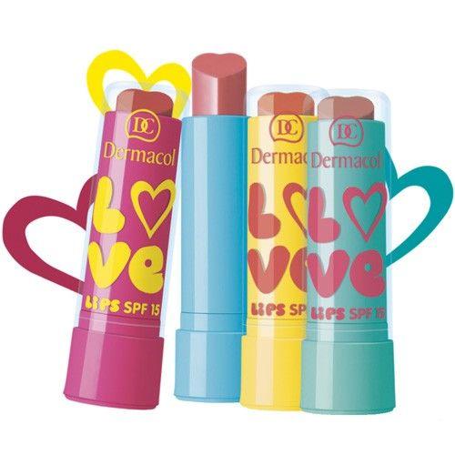 Dermacol Zvláčňující balzám na rty Love Lips SPF 15 3,5 ml 01 Love