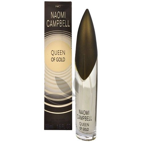 Naomi Campbell Queen Of Gold - toaletní voda s rozprašovačem 50 ml
