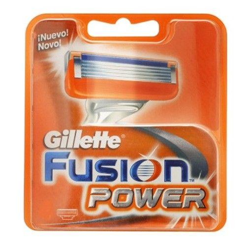 Gillette Náhradní hlavice Gillette Fusion Power 4 ks