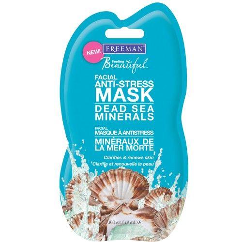 Freeman Antistresová pleťová maska s minerály z Mrtvého moře (Facial Anti-Stress Mask Dead Sea Minerals) 150 ml