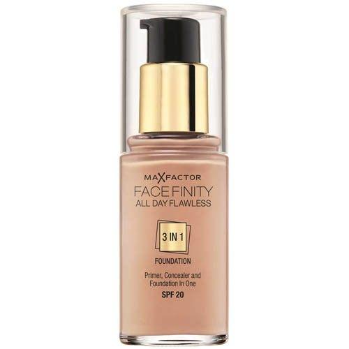 Max Factor Dlouhotrvající make-up Facefinity 3 v 1 (All Day Flawless) 30 ml 50 Natural