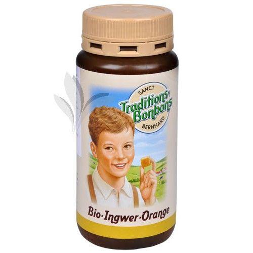 Allnature Bio Zázvorovo-pomerančové bonbóny 170 g