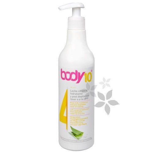 Diet Esthetic Hydratační tělové mléko po depilaci Body 10 (Body Milk Moisturizer and Post Depilation Laser or Waxing 4) 500 ml