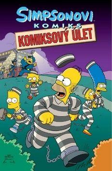 Matt Groening: Simpsonovi Komiksový úlet cena od 194 Kč