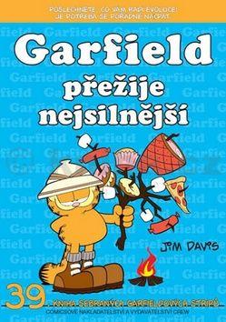 Jim Davis: Garfield přežije nejsilnější (č.39) cena od 70 Kč