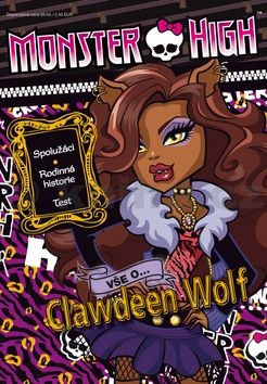XXL obrazek Mattel: Monster High - Clawdeen Wolf