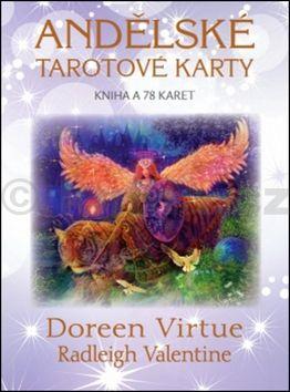 Doreen Virtue, Radleigh Valentine: Andělské tarotové karty cena od 171 Kč