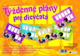 Veronika Miklasová: Týždenné plány pre dievčatá cena od 71 Kč