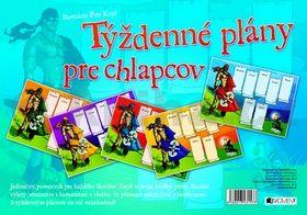 Petr Kopl: Týždenné plány pre chlapcov cena od 71 Kč