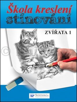 Škola kreslení, stínování - zvířata 1 cena od 77 Kč