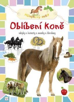 Oblíbení koně Nálepkový sešit cena od 24 Kč