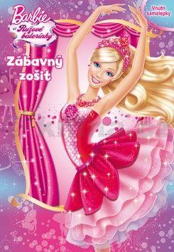 Barbie a Ružové balerínky Zábavný zošit cena od 72 Kč