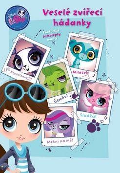 Nettlová Klára: Littlest Pet Shop - Veselé zvířecí hádanky + samolepky cena od 78 Kč