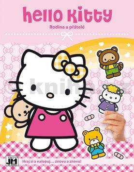 Jiří Models: Hello Kitty-Rodina-Samolepková knížka cena od 34 Kč