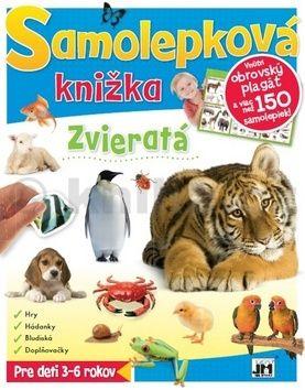 Samolepková knižka Zvieratá cena od 95 Kč