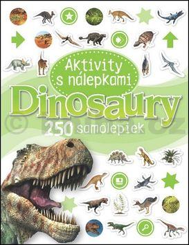 Dinosaury Aktivity s nálepkami cena od 92 Kč