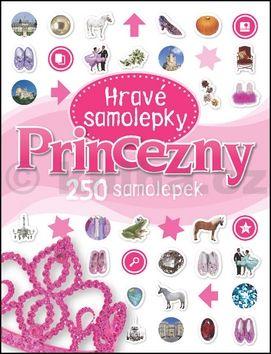Jana Svobodová: Princezny - Hravé samolepky cena od 70 Kč