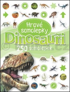 Dinosauři Hravé samolepky cena od 0 Kč