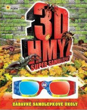 Niklíčková Alexandra: 3D hmyz - Super samolepky cena od 55 Kč