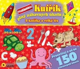 Kateřina Bláhová: Předškolákův kufřík plný zábavných úkolů - 3 knížky + velký fix cena od 131 Kč