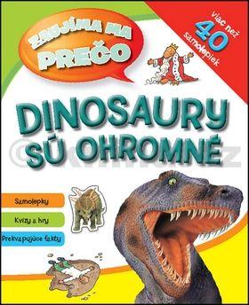 Dinosaury sú ohromné cena od 75 Kč