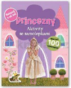 Princezny Aktivity se samolepkami cena od 0 Kč