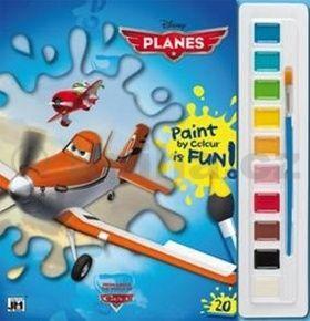 Letadla omalovánka s vodovkami cena od 44 Kč