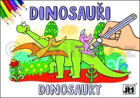 Dinosauři - omalovánka cena od 9 Kč