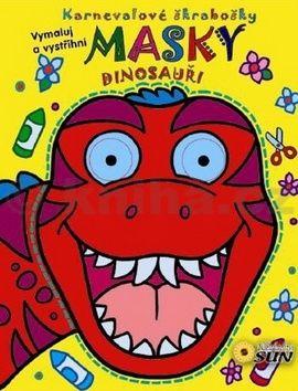 Masky - Dinosauři cena od 64 Kč