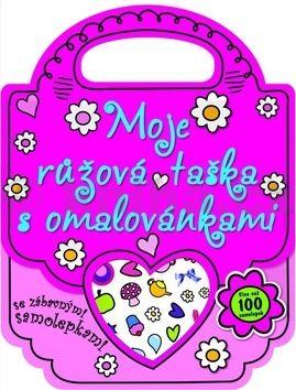 Moje růžová taška s omalovánkami cena od 59 Kč