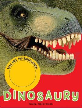 Dinosaury - kniha maľovaniek cena od 94 Kč
