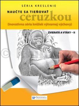 Naučte sa tieňovať ceruzkou Zvieratá a vtáky - II cena od 73 Kč
