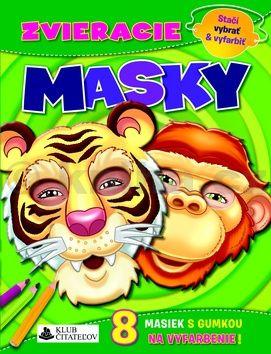 Zvieracie masky cena od 96 Kč
