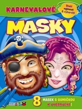 Karnevalové masky cena od 49 Kč