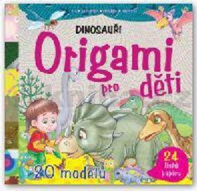 Origami pro děti - Dinosauři cena od 56 Kč