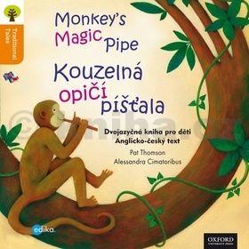 Pat Thomson: Kouzelná opičí píšťala Monkey´s Magic Pipes cena od 19 Kč