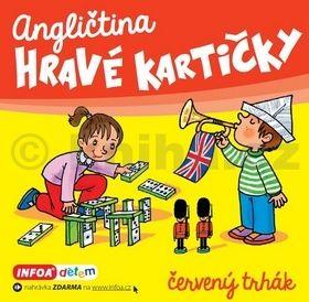Šamalíková Pavlína: Angličtina - Hravé kartičky - červený trhák cena od 84 Kč