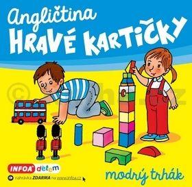 Šamalíková Pavlína: Angličtina - Hravé kartičky - modrý trhák cena od 85 Kč