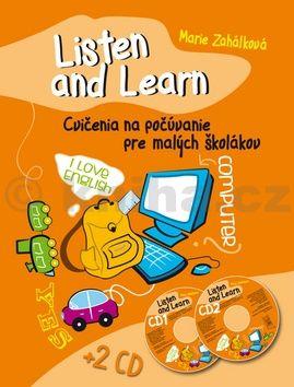 Marie Zahálková: Listen and Learn Cvičenia na počúvanie pre malých školákov + 2 CD cena od 116 Kč