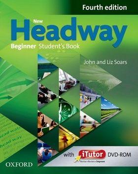 John a Liz Soars: New Headway Fourth Edition Beginner Student´s Book + iTutor DVD cena od 404 Kč