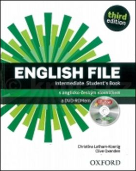 Christina Latham-Koenig, Clive Oxenden: English File Intermediate Student´s Book + iTutor DVD-ROM Czech Edition cena od 434 Kč