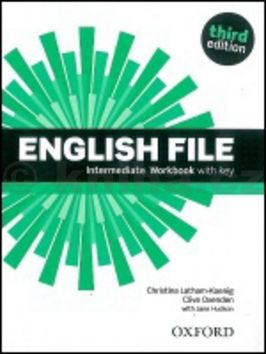 Christina Latham-Koenig, Clive Oxenden, Paul Selingson: English File Intermediate Workbook with key cena od 261 Kč
