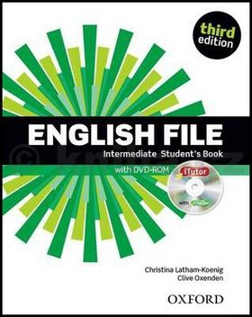Christina Latham-Koenig, Clive Oxenden: English File Intermediate Student´s Book + iTutor DVD-ROM cena od 382 Kč