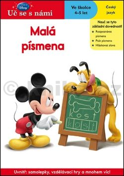 Walt Disney: Uč se s námi - Malá písmena cena od 49 Kč