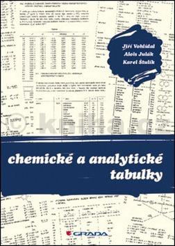 Chemické a analytické tabulky cena od 398 Kč