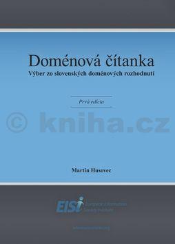 Martin Husovec: Doménová čítanka cena od 251 Kč