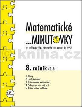 Miroslav Hricz: Matematické minutovky 8. ročník / 1. díl cena od 24 Kč