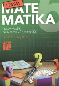 Hravá matematika 6 cena od 121 Kč